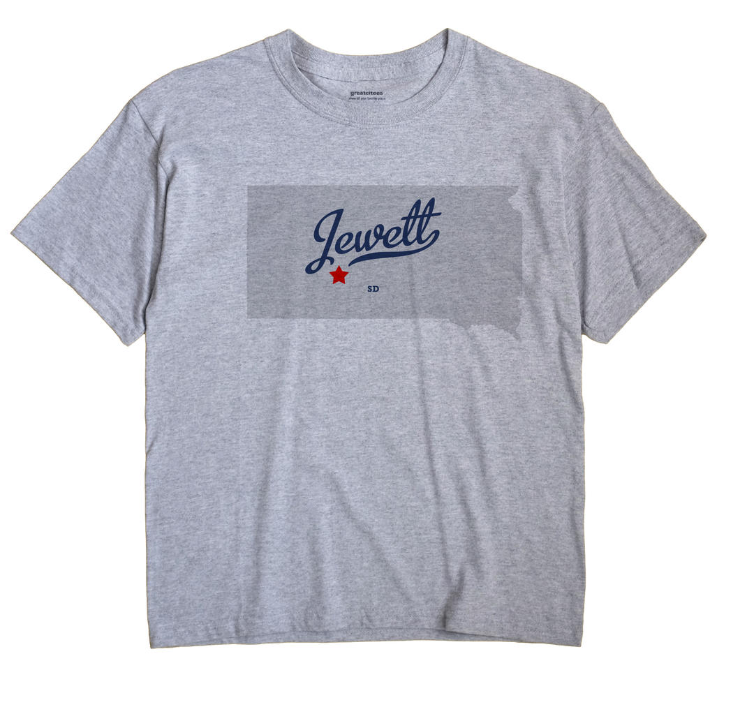 Jewett, South Dakota SD Souvenir Shirt