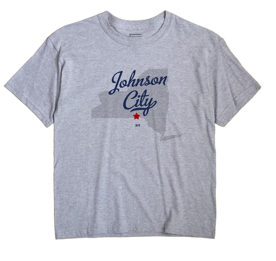 Johnson City, New York NY Souvenir Shirt