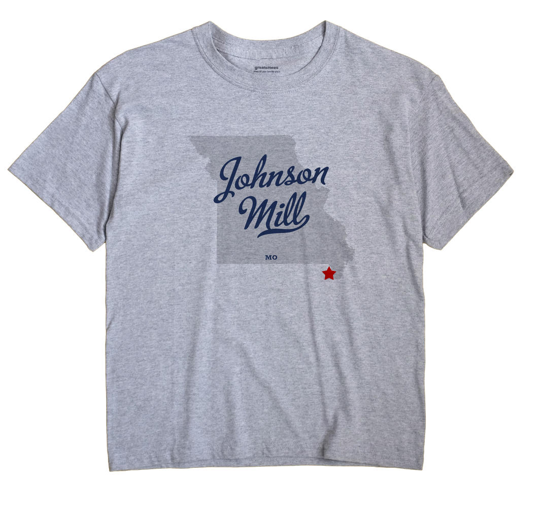 Johnson Mill, Missouri MO Souvenir Shirt