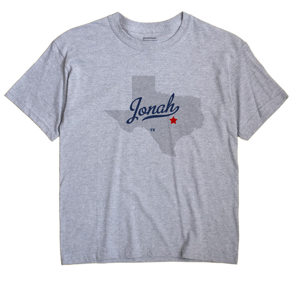 Jonah, Texas TX Souvenir Shirt