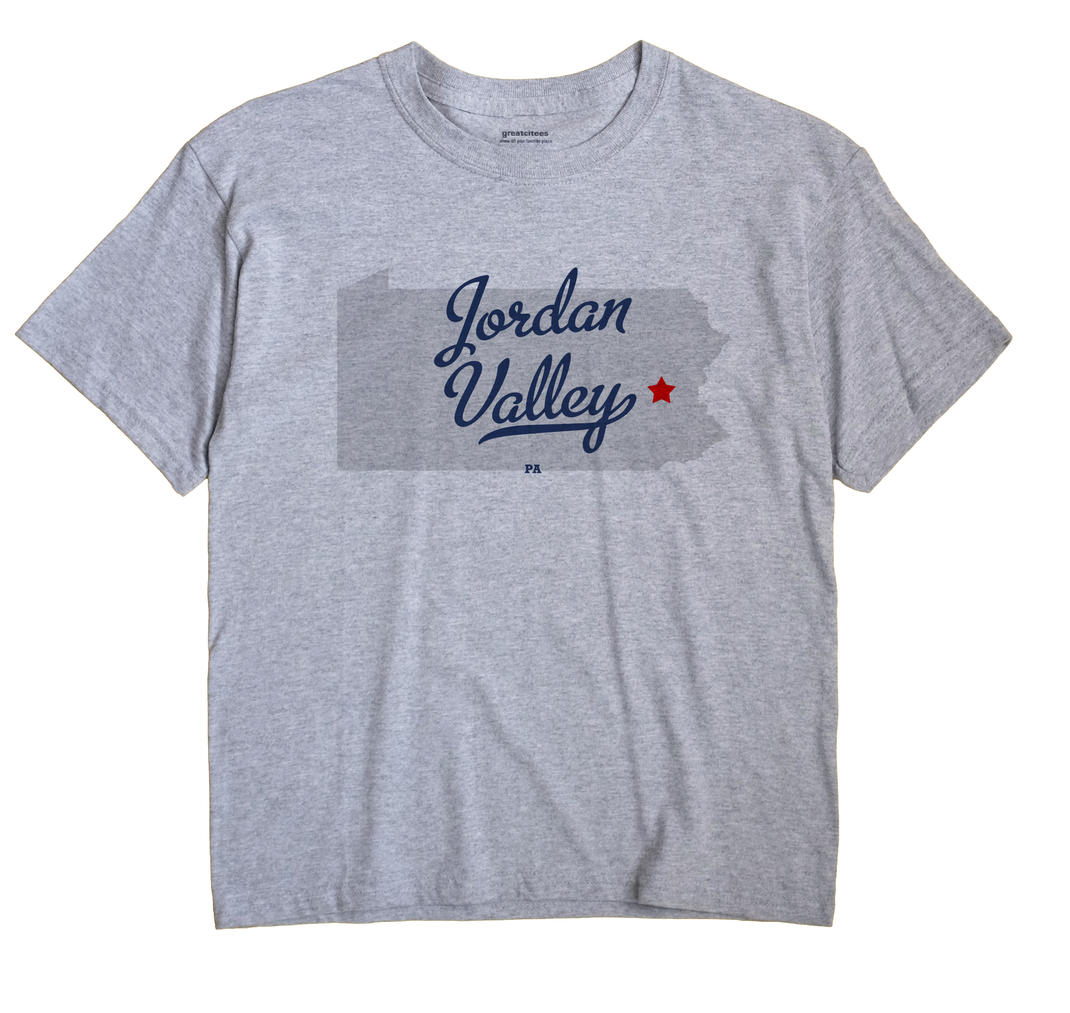 Jordan Valley, Pennsylvania PA Souvenir Shirt