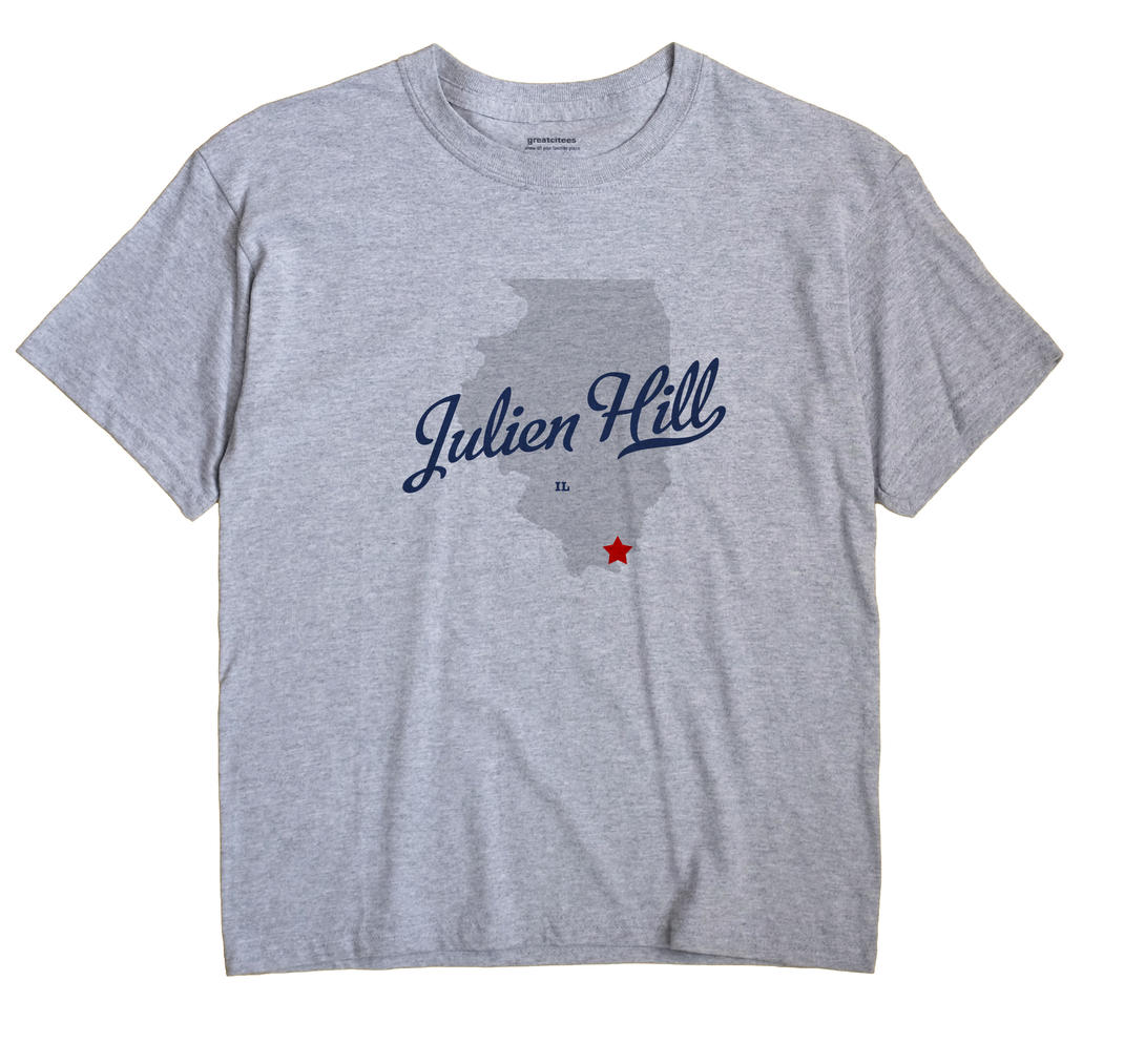 Julien Hill, Illinois IL Souvenir Shirt