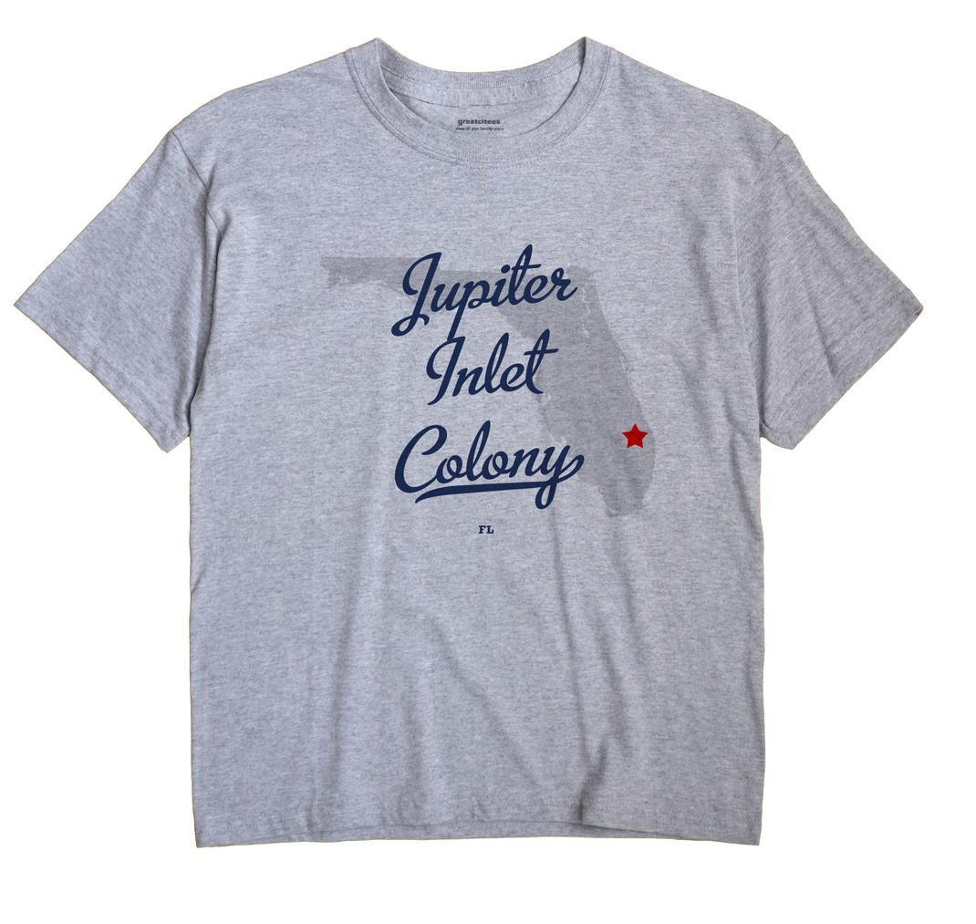 Jupiter Inlet Colony, Florida FL Souvenir Shirt