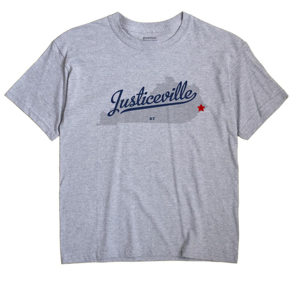 Justiceville, Kentucky KY Souvenir Shirt