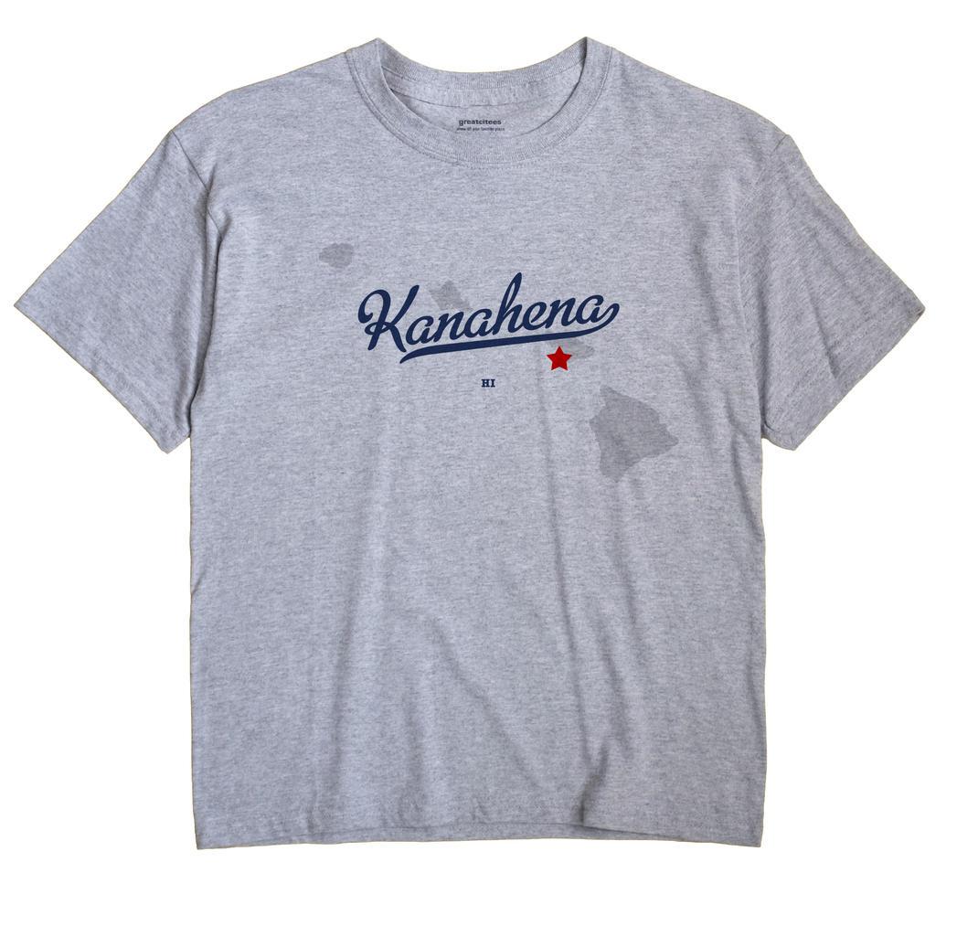 Kanahena, Hawaii HI Souvenir Shirt