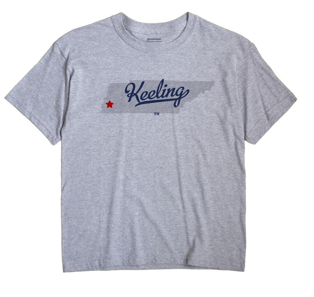 Keeling, Tennessee TN Souvenir Shirt