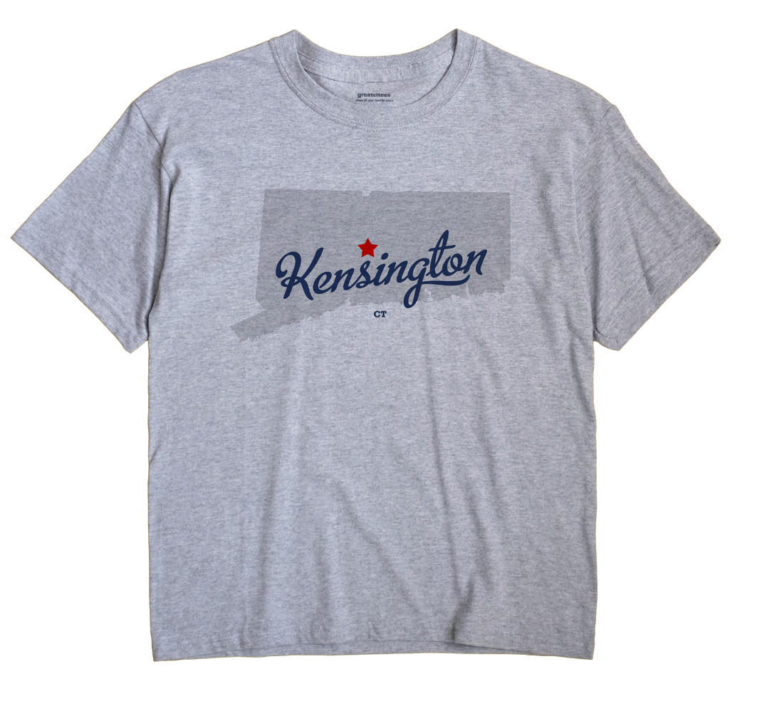 Kensington, Connecticut CT Souvenir Shirt