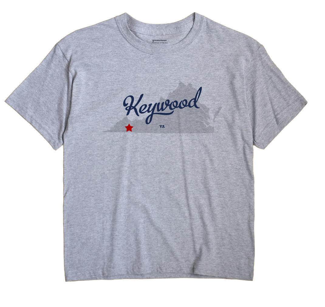 Keywood, Virginia VA Souvenir Shirt