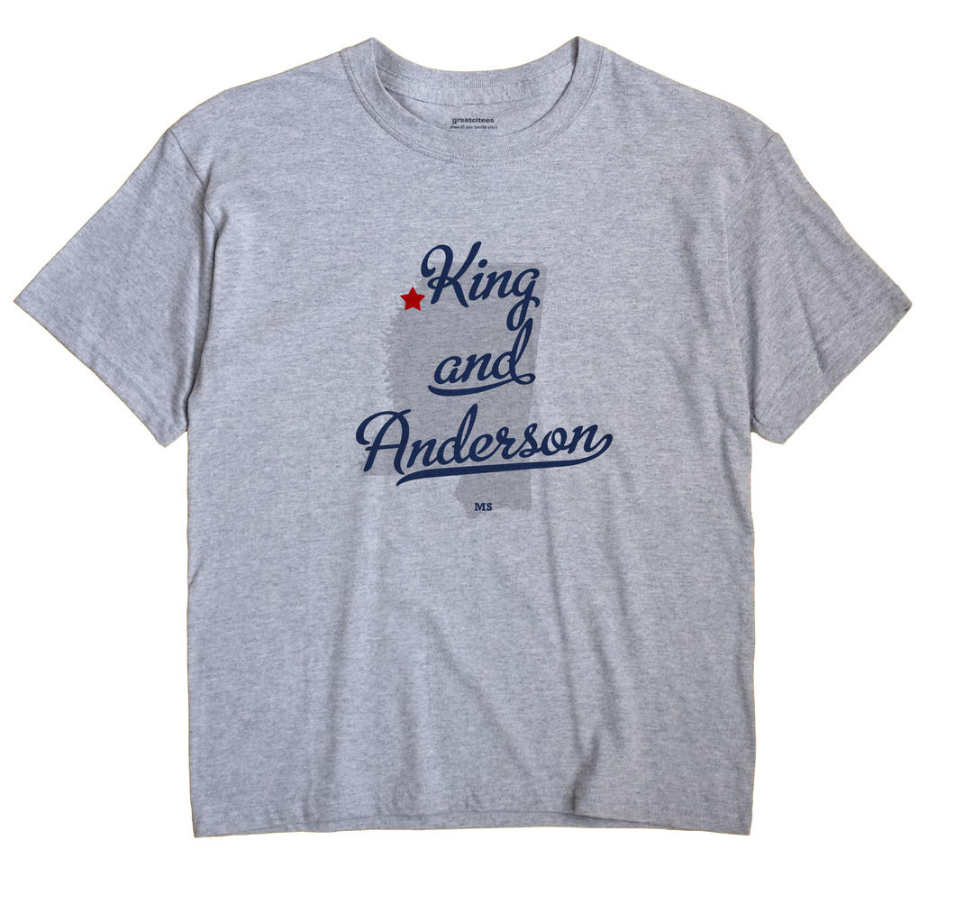 King and Anderson, Mississippi MS Souvenir Shirt