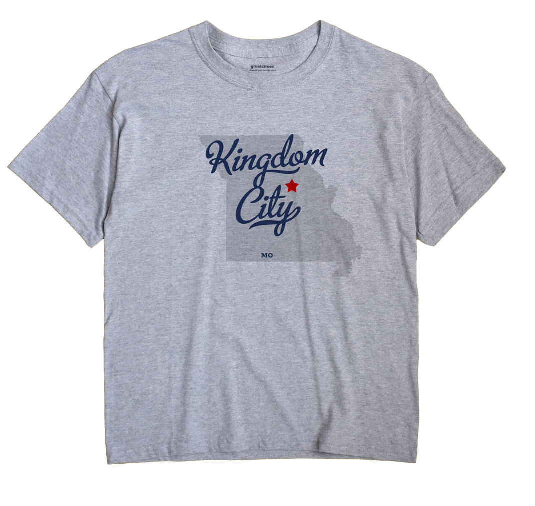 Kingdom City, Missouri MO Souvenir Shirt