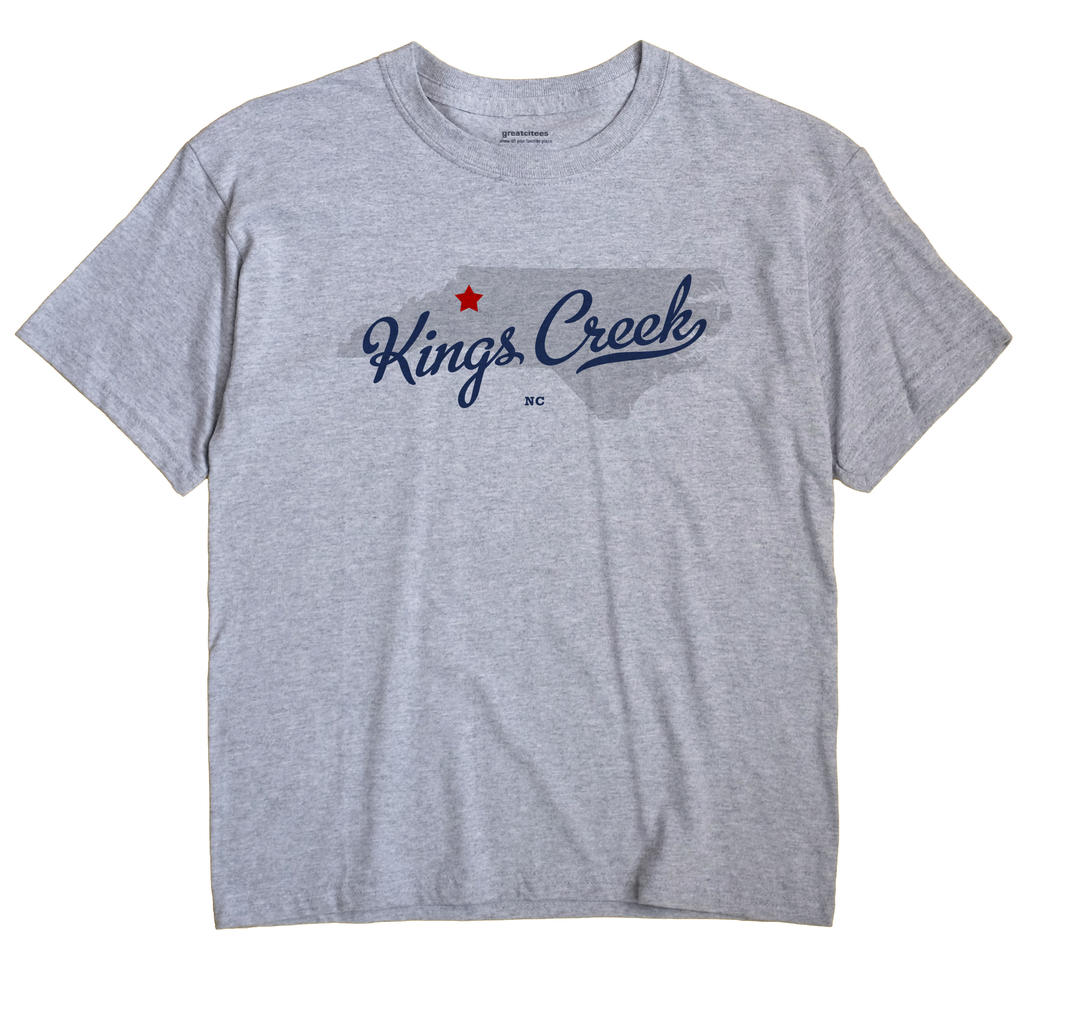 Kings Creek, North Carolina NC Souvenir Shirt