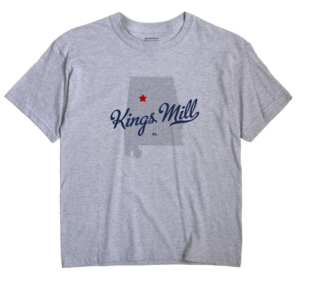 Kings Mill, Alabama AL Souvenir Shirt