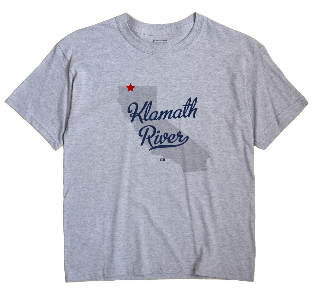 Klamath River, California CA Souvenir Shirt