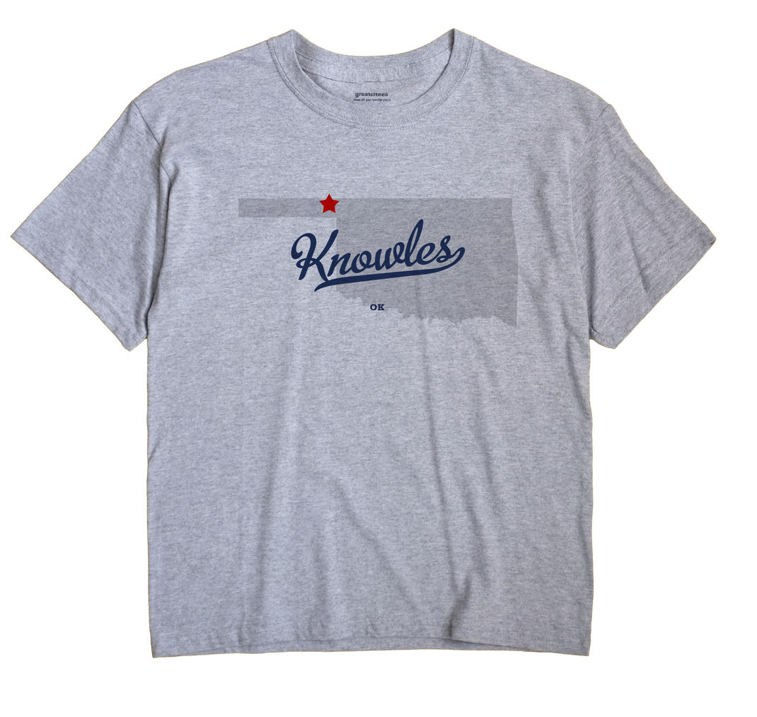 Knowles, Oklahoma OK Souvenir Shirt