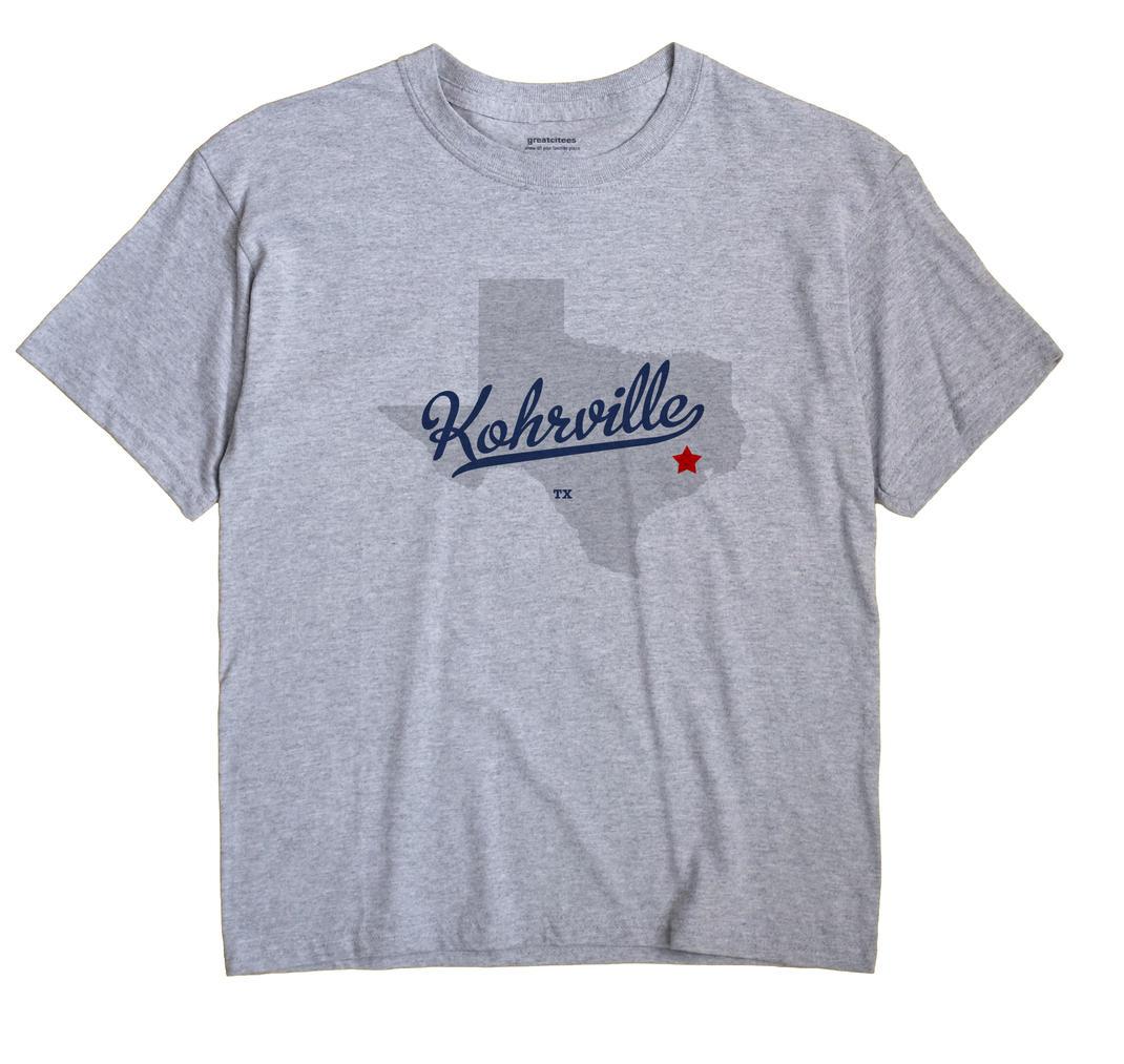 Kohrville, Texas TX Souvenir Shirt