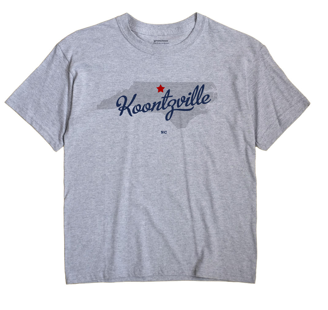 Koontzville, North Carolina NC Souvenir Shirt