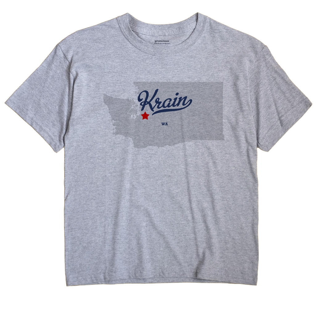 Krain, Washington WA Souvenir Shirt