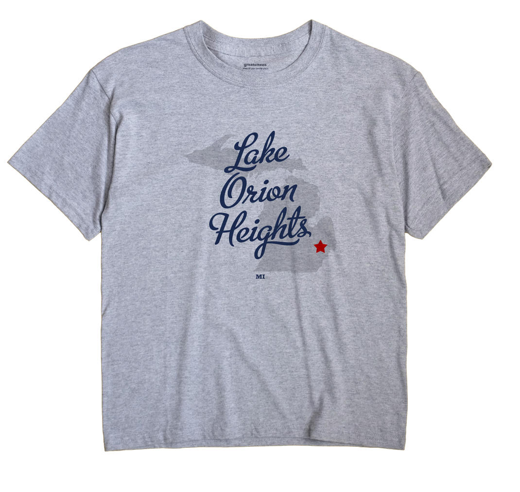 Lake Orion Heights, Michigan MI Souvenir Shirt