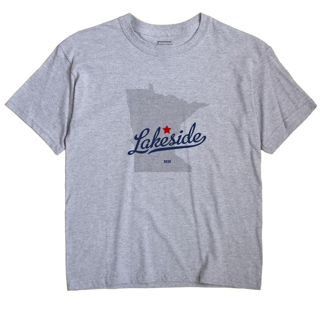 Lakeside, Aitkin County, Minnesota MN Souvenir Shirt