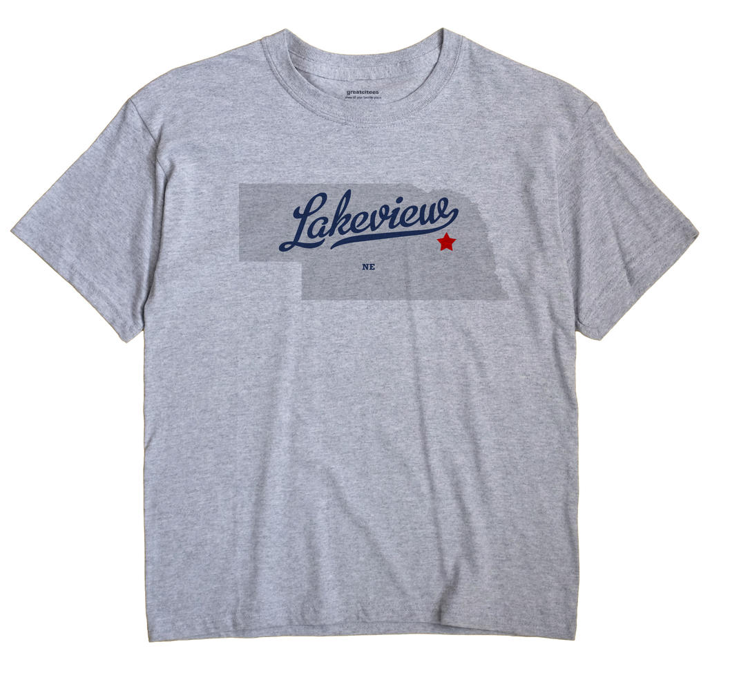 Lakeview, Nebraska NE Souvenir Shirt
