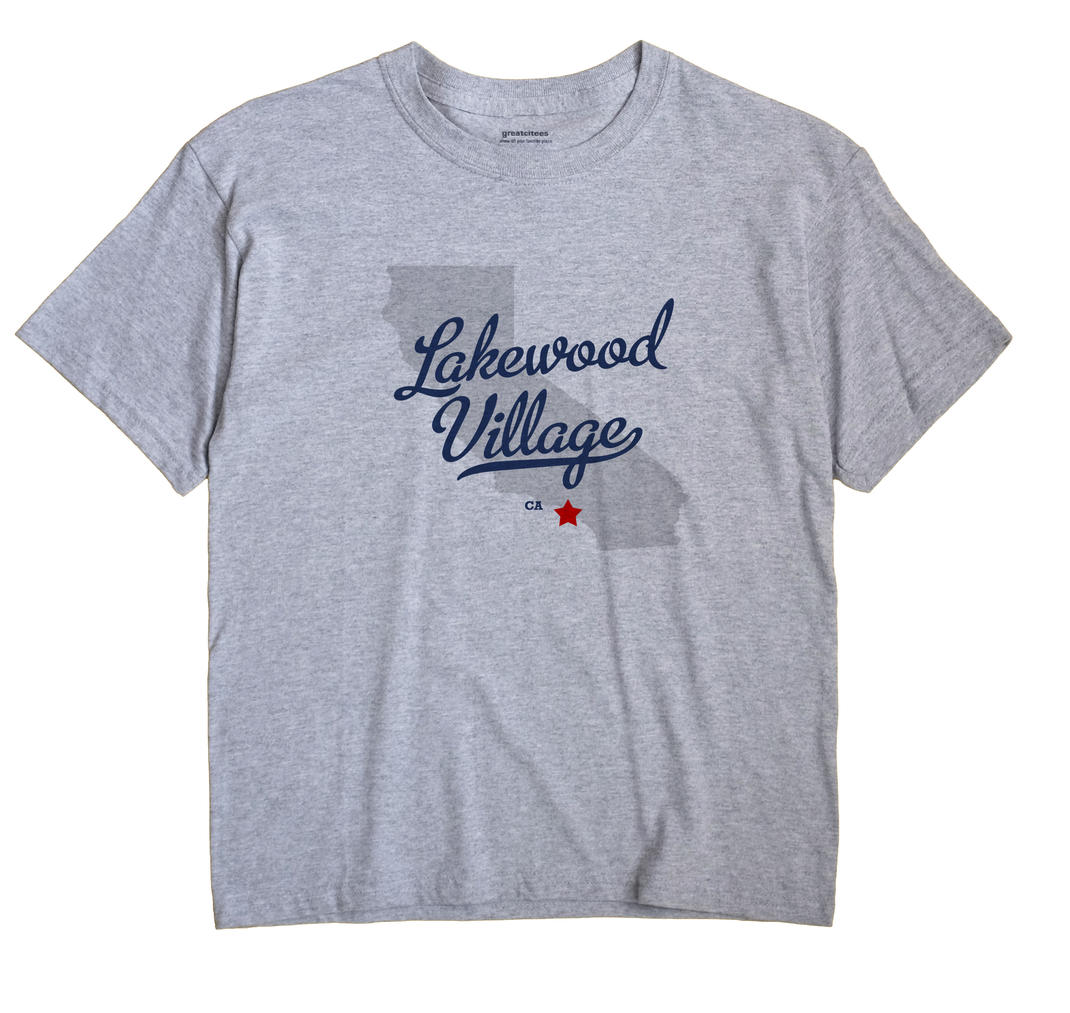 Lakewood Village, California CA Souvenir Shirt