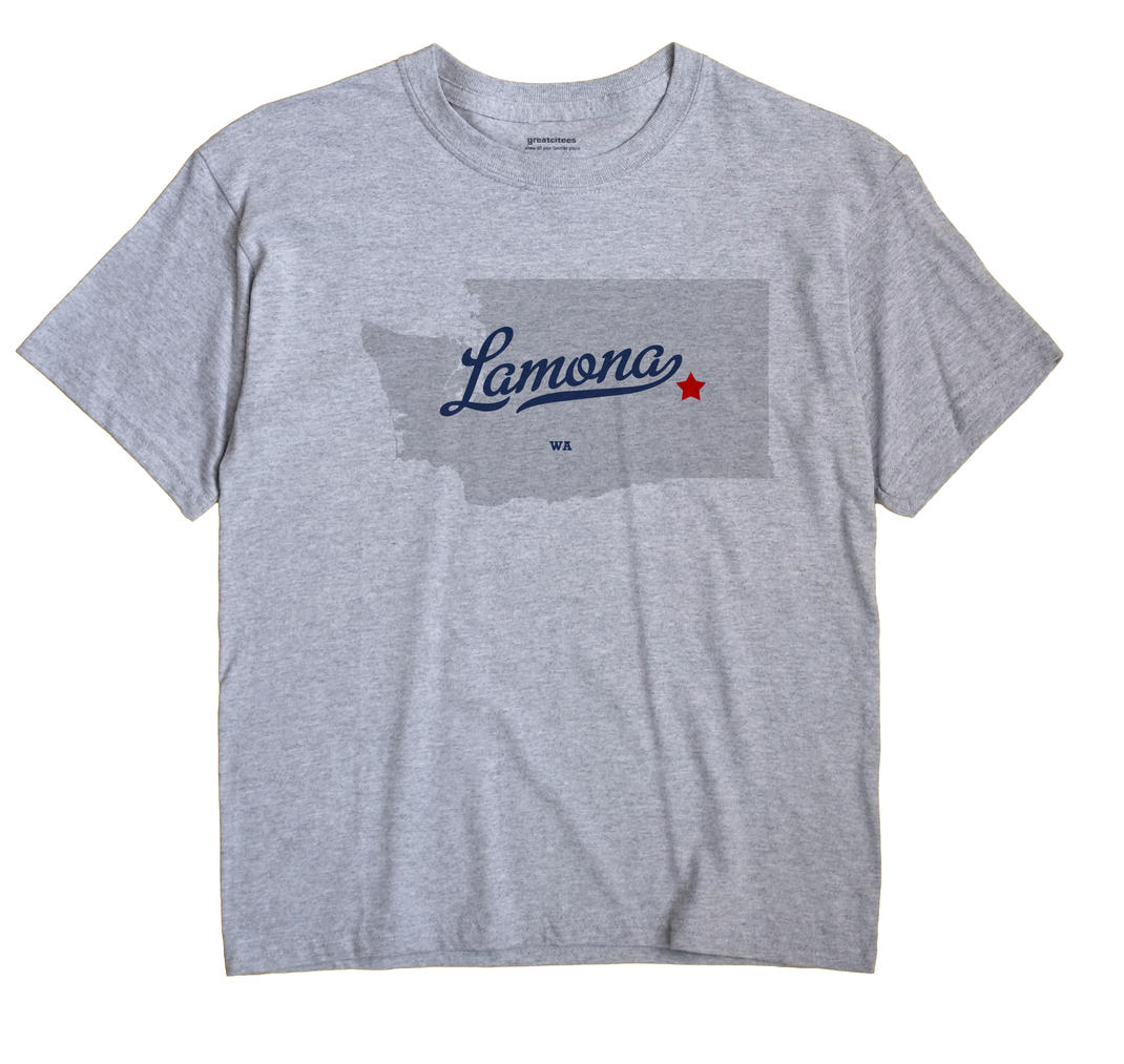 Lamona, Washington WA Souvenir Shirt