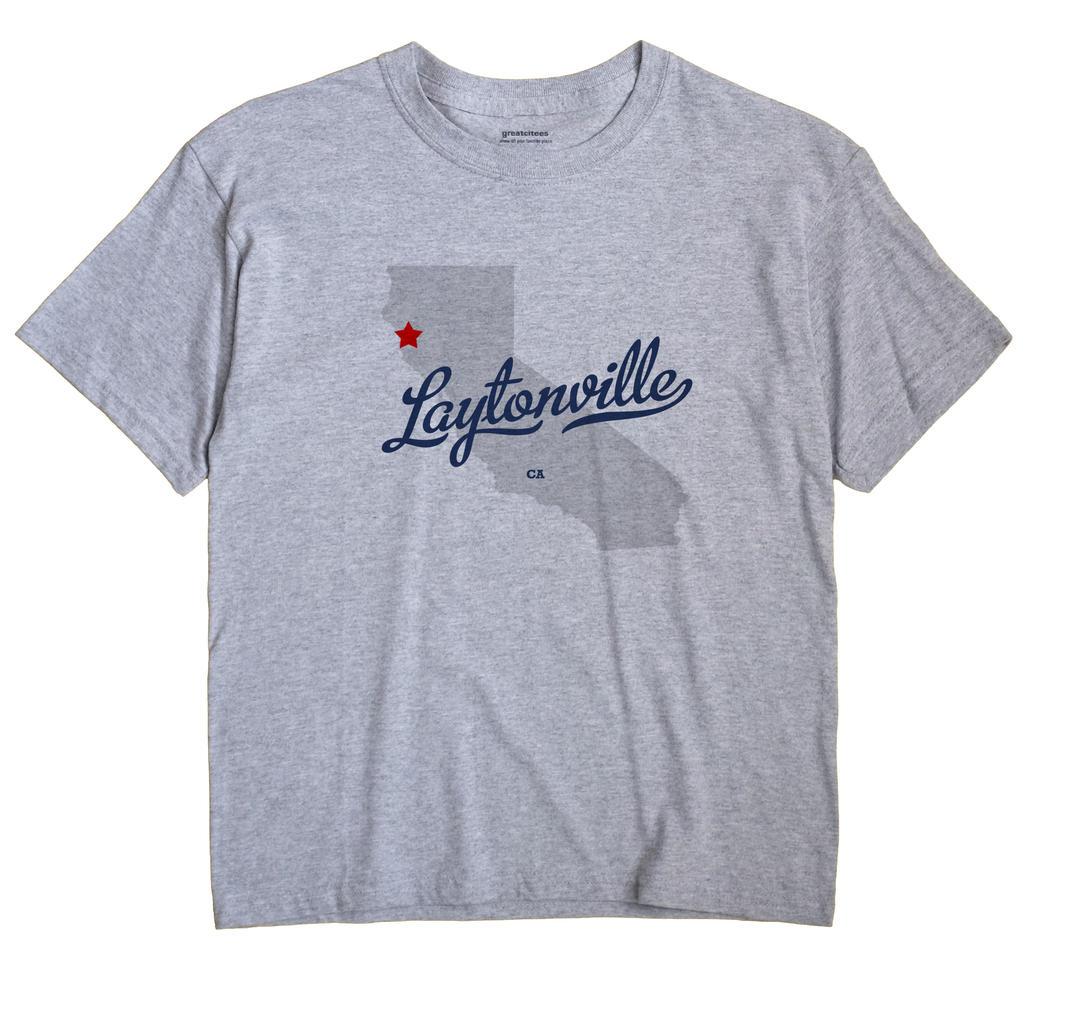 Laytonville, California CA Souvenir Shirt