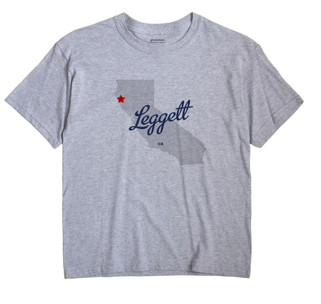Leggett, California CA Souvenir Shirt