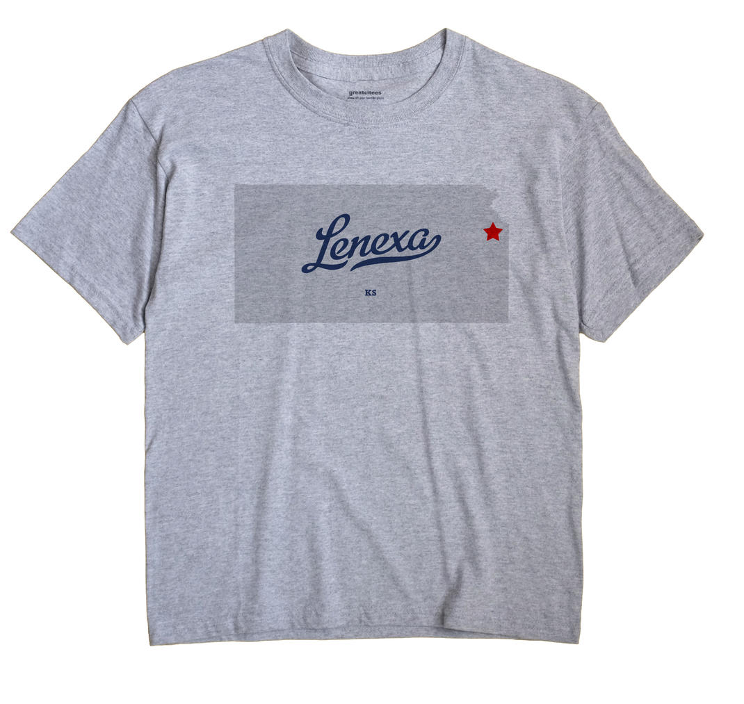 Lenexa Kansas KS T Shirt METRO WHITE Hometown Souvenir