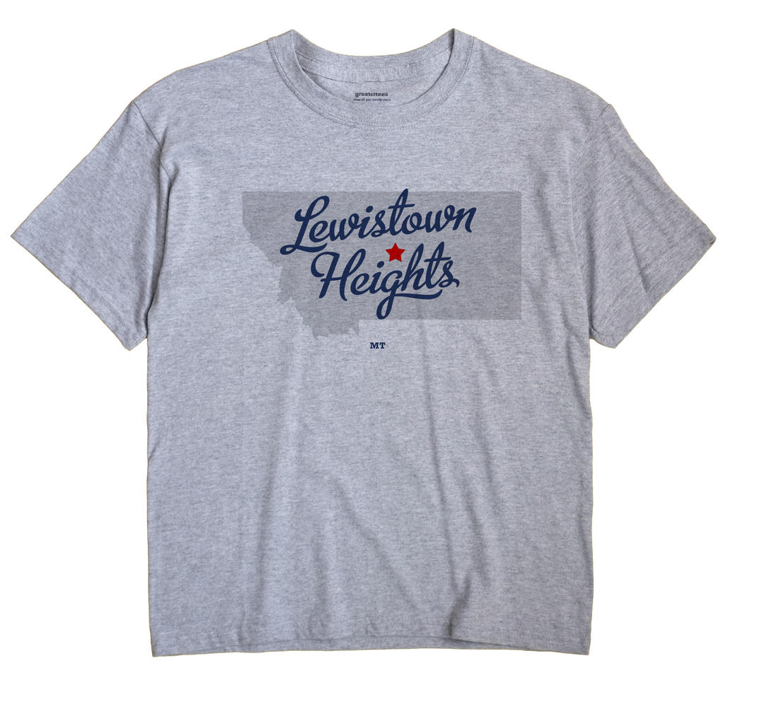Lewistown Heights, Montana MT Souvenir Shirt