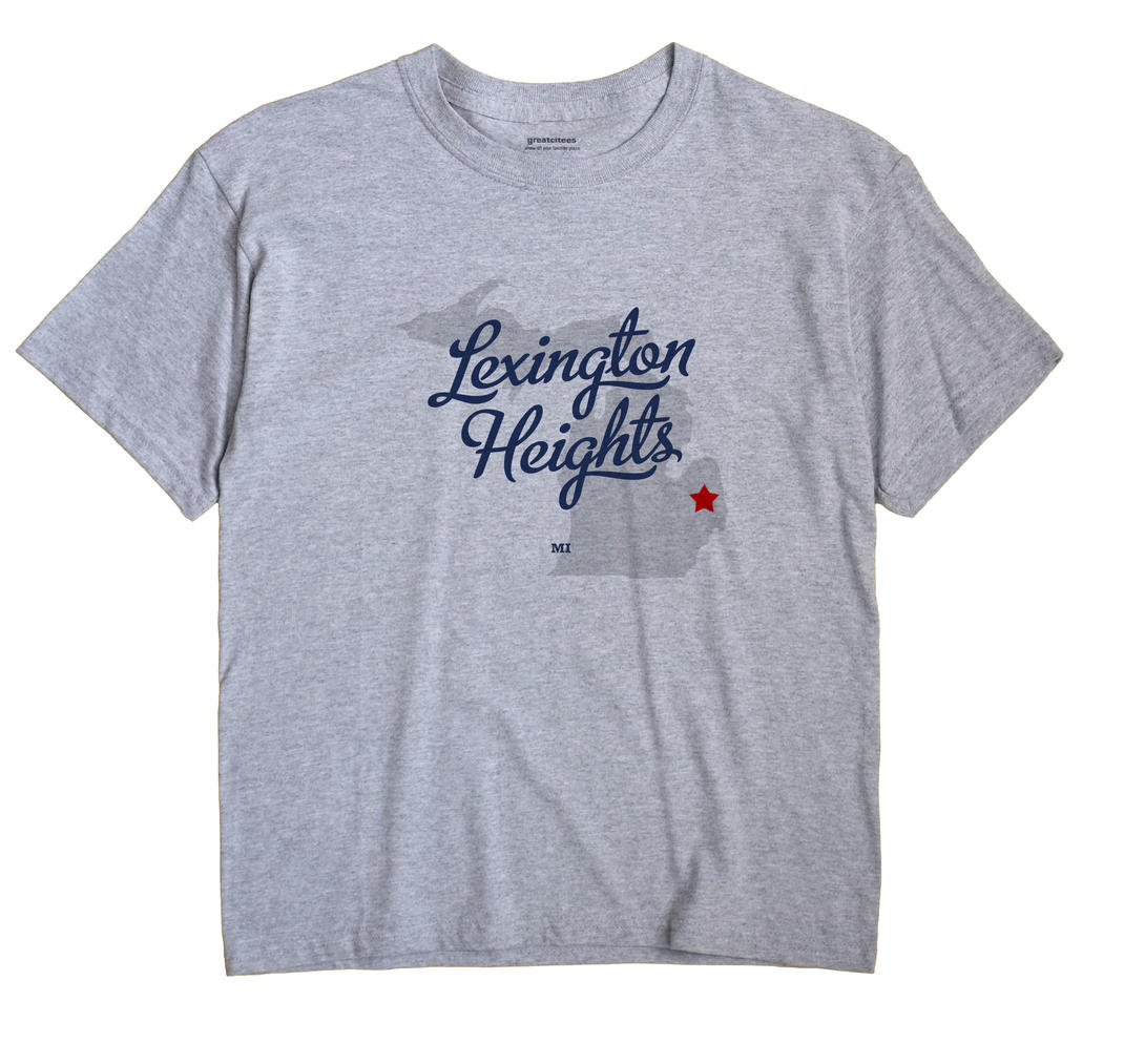 Lexington Heights, Michigan MI Souvenir Shirt