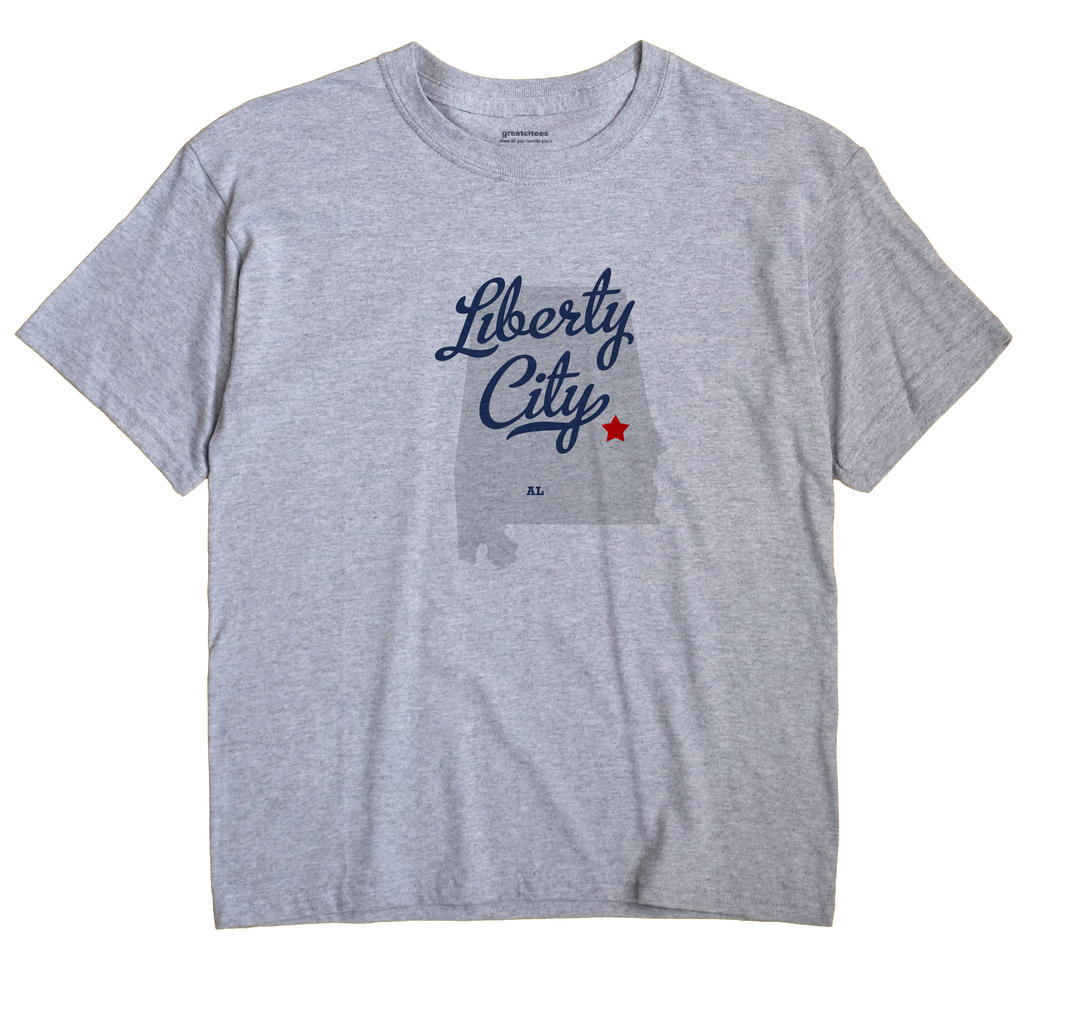 Liberty City, Alabama AL Souvenir Shirt