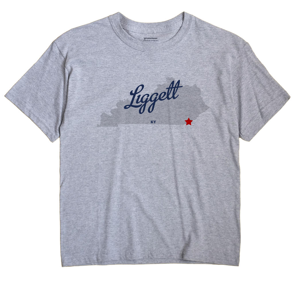 Liggett, Kentucky KY Souvenir Shirt