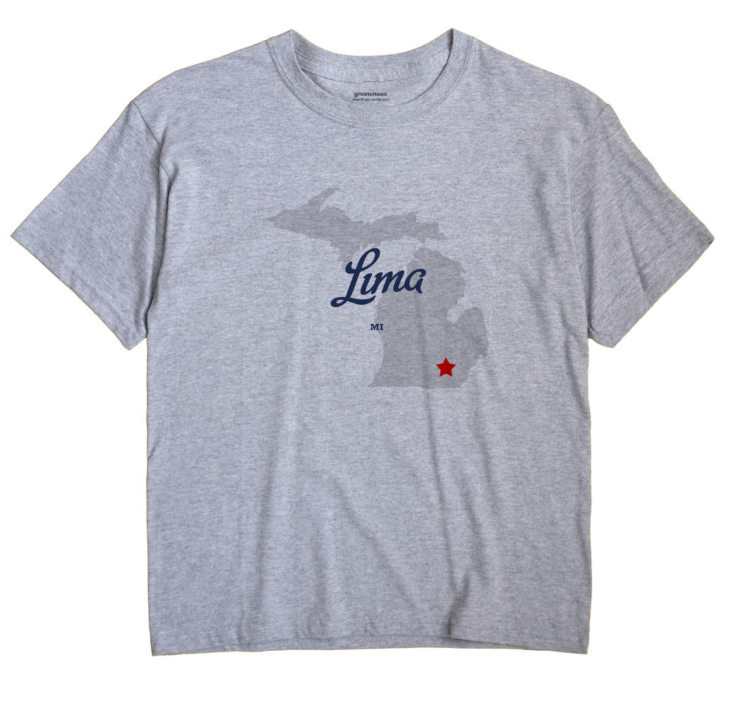 Lima, Michigan MI Souvenir Shirt