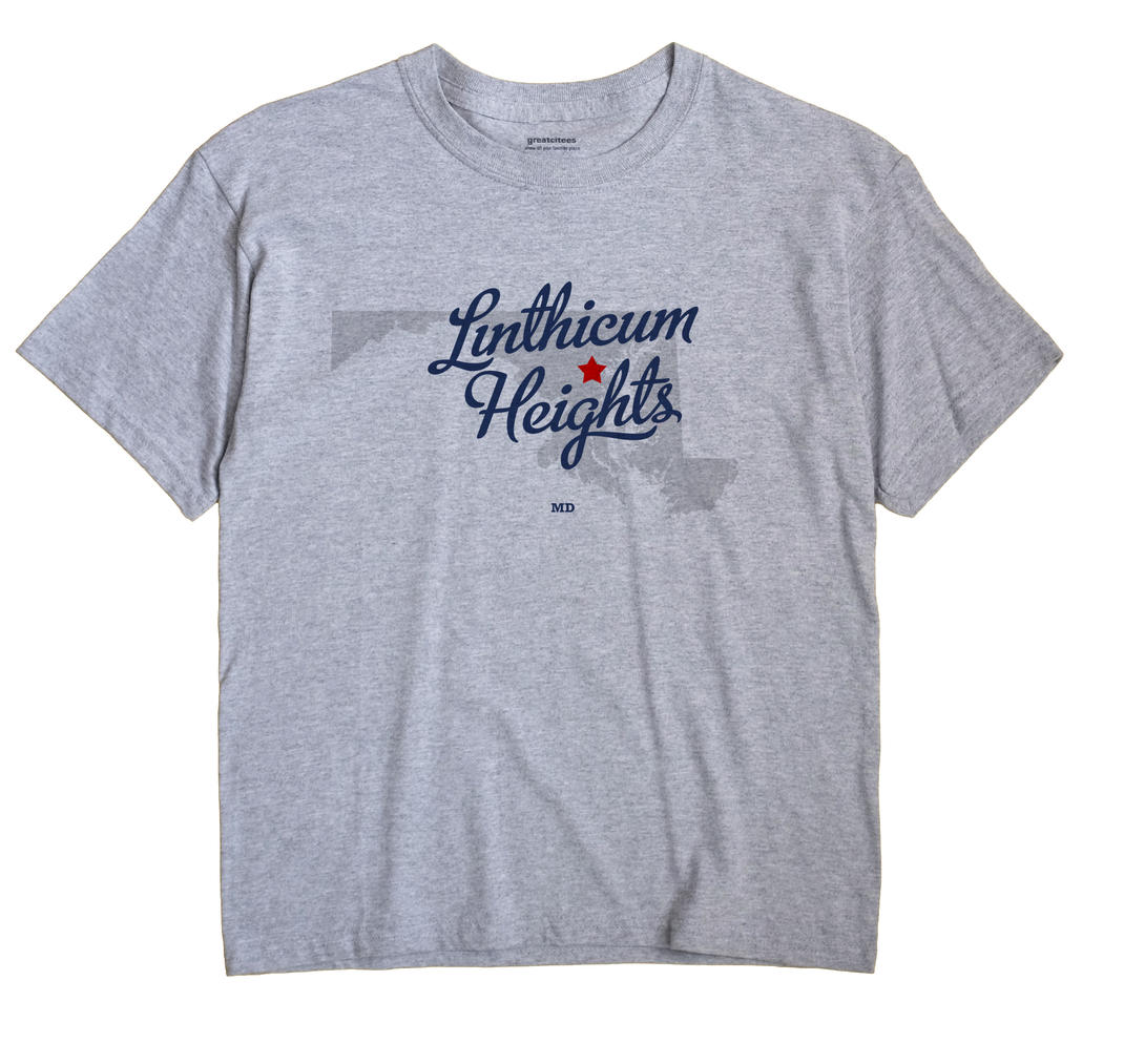 Linthicum Heights, Maryland MD Souvenir Shirt
