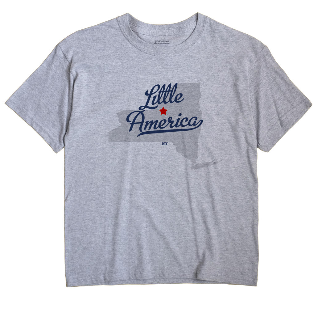 Little America, New York NY Souvenir Shirt