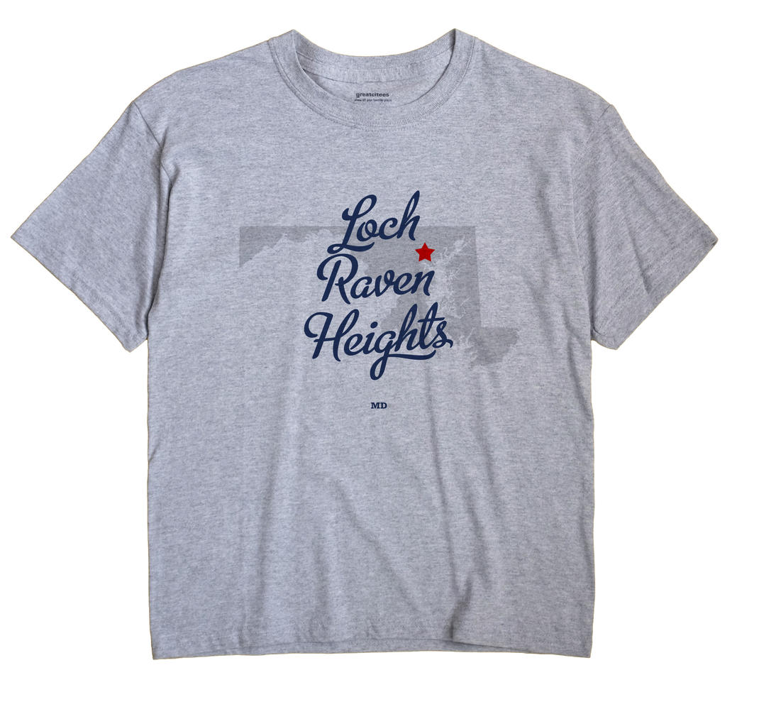 Loch Raven Heights, Maryland MD Souvenir Shirt