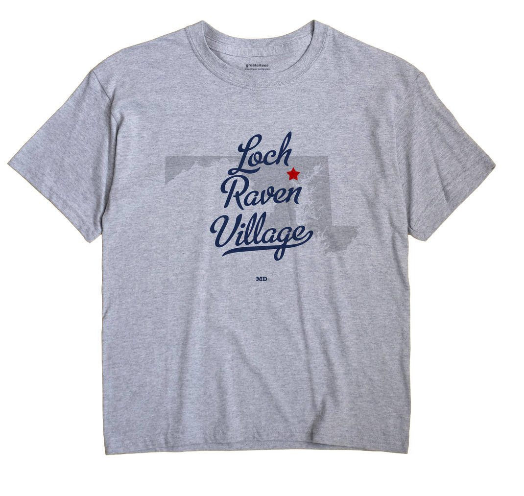 Loch Raven Village, Maryland MD Souvenir Shirt