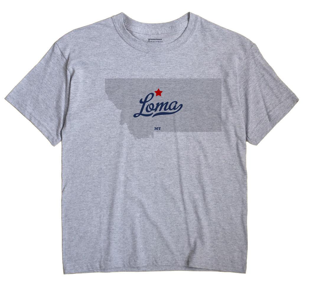 Loma, Montana MT Souvenir Shirt