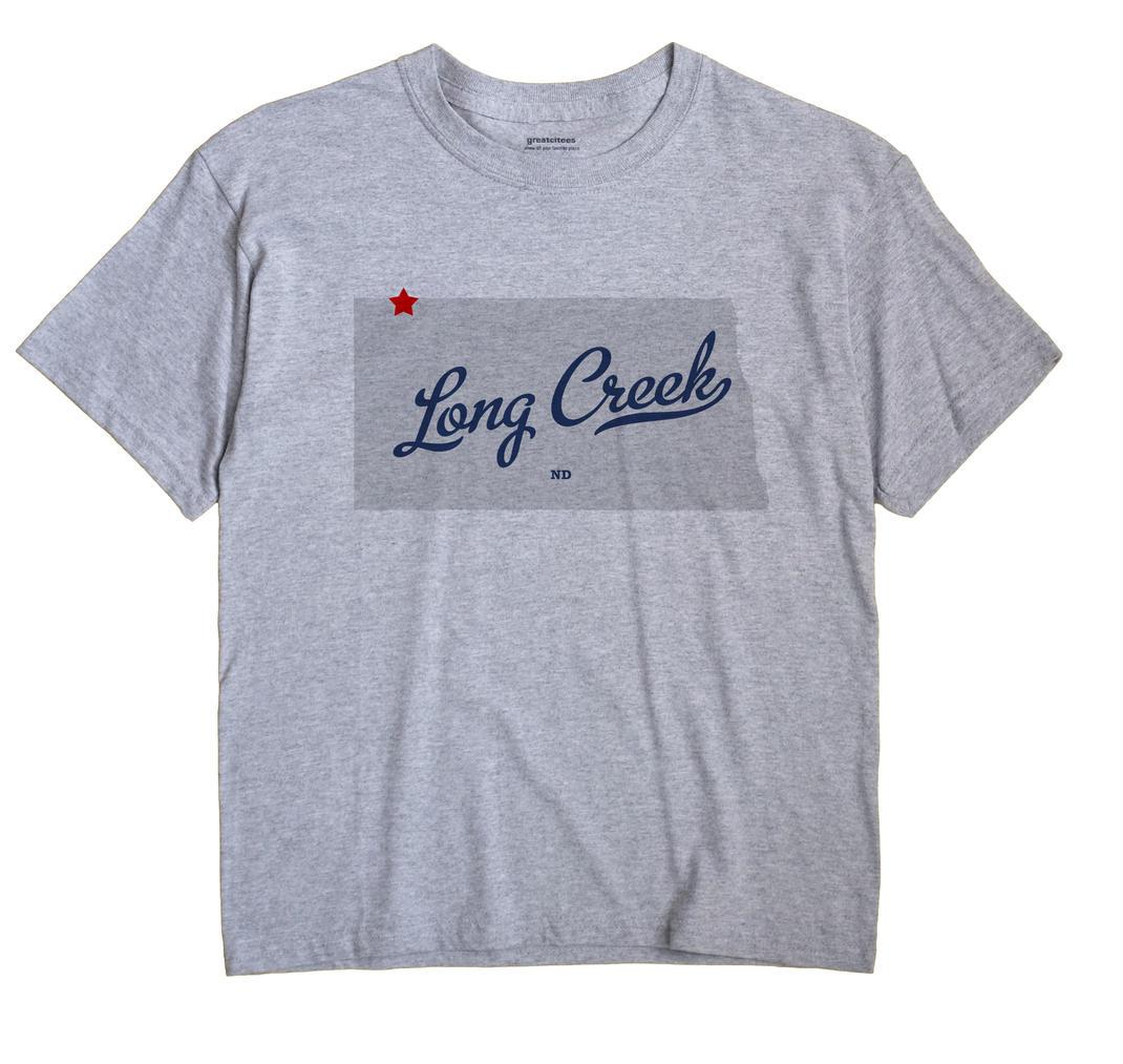 Long Creek, North Dakota ND Souvenir Shirt