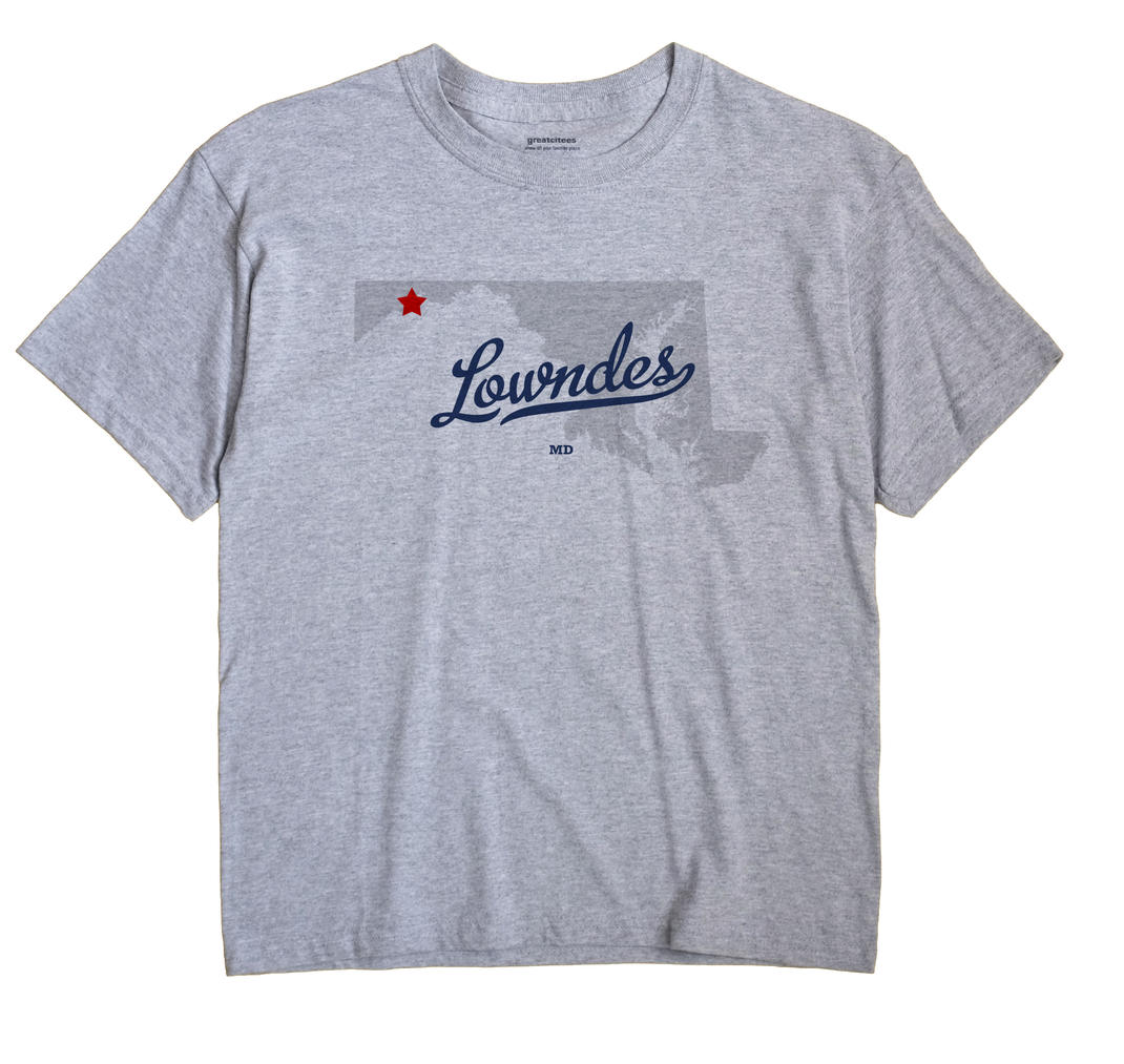 Lowndes, Maryland MD Souvenir Shirt