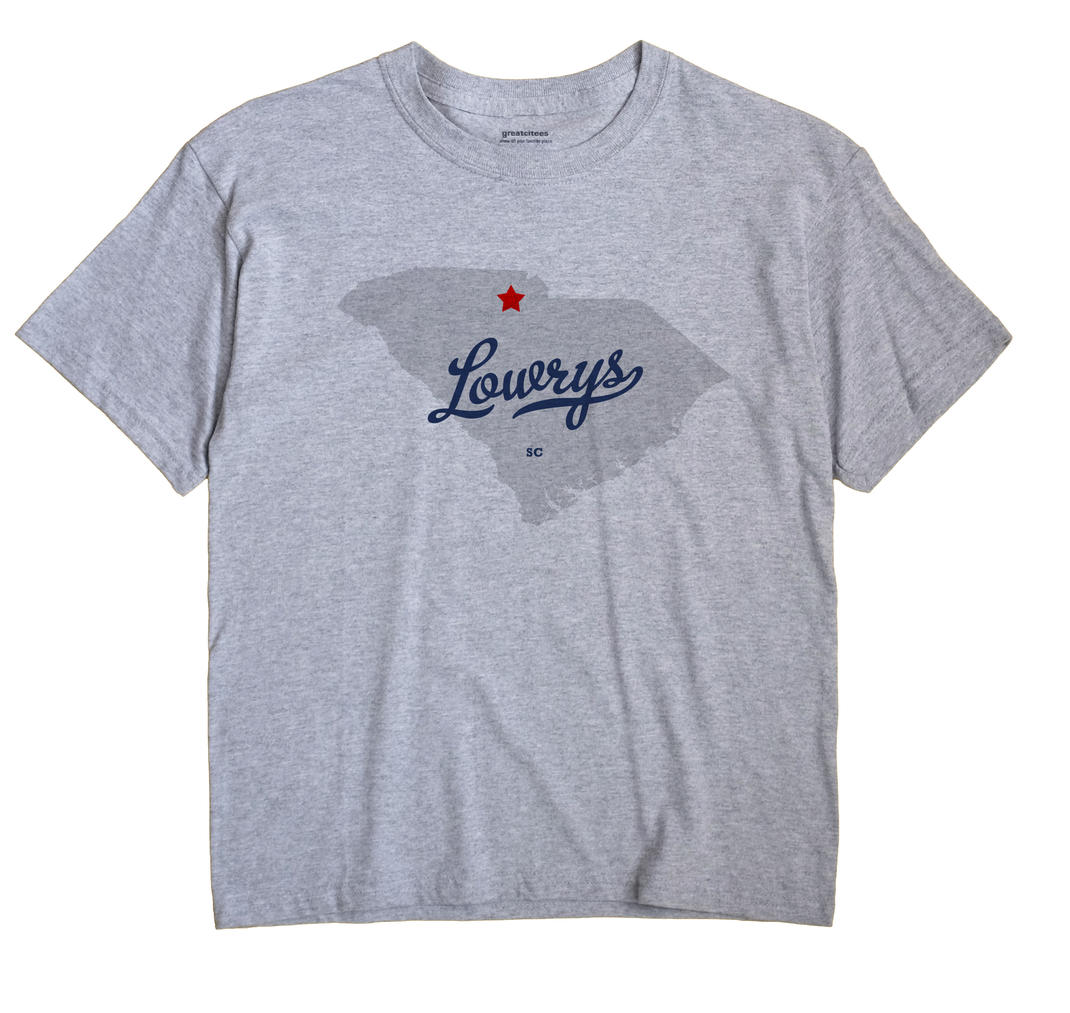 Lowrys, South Carolina SC Souvenir Shirt