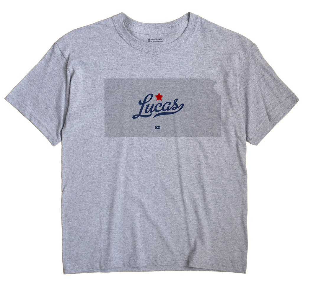 Lucas, Kansas KS Souvenir Shirt
