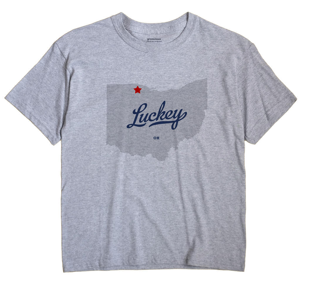 Luckey, Ohio OH Souvenir Shirt