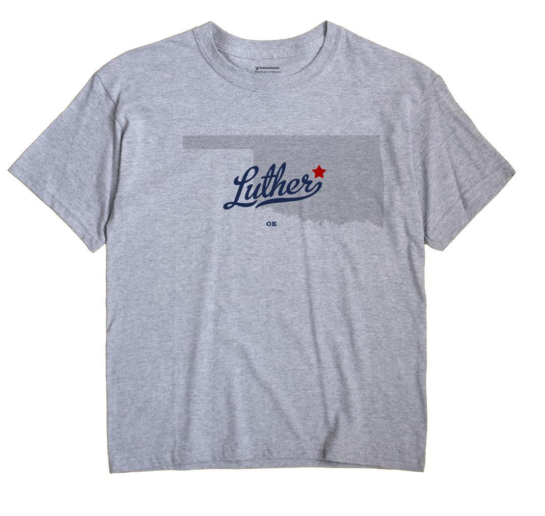 Luther, Oklahoma OK Souvenir Shirt