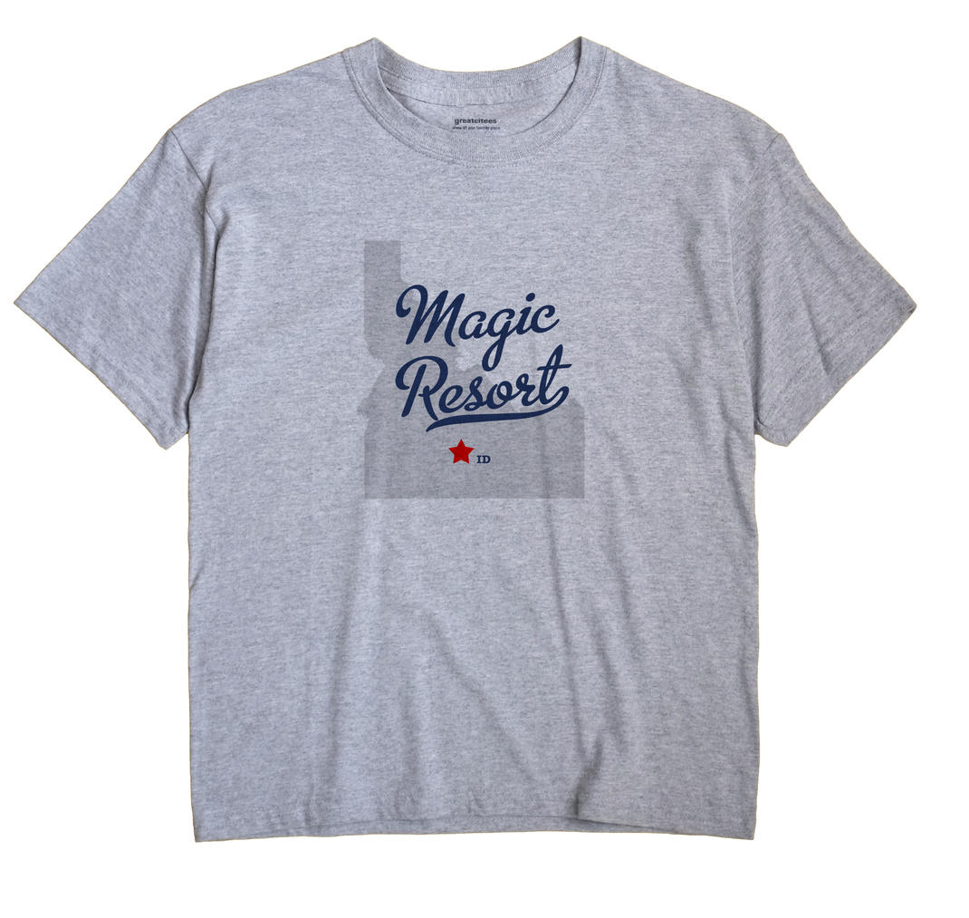 Magic Resort, Idaho ID Souvenir Shirt