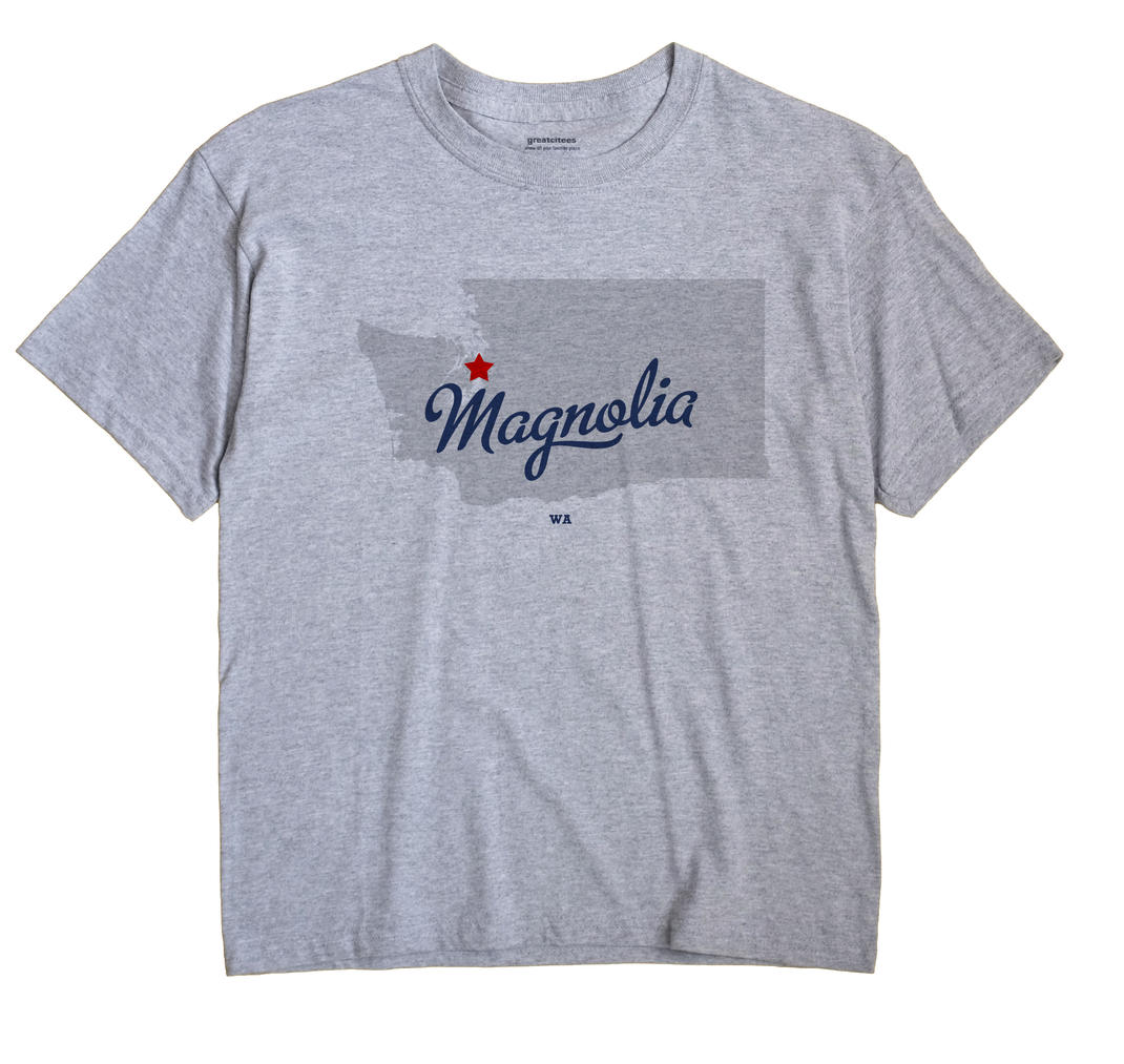 Magnolia, Washington WA Souvenir Shirt