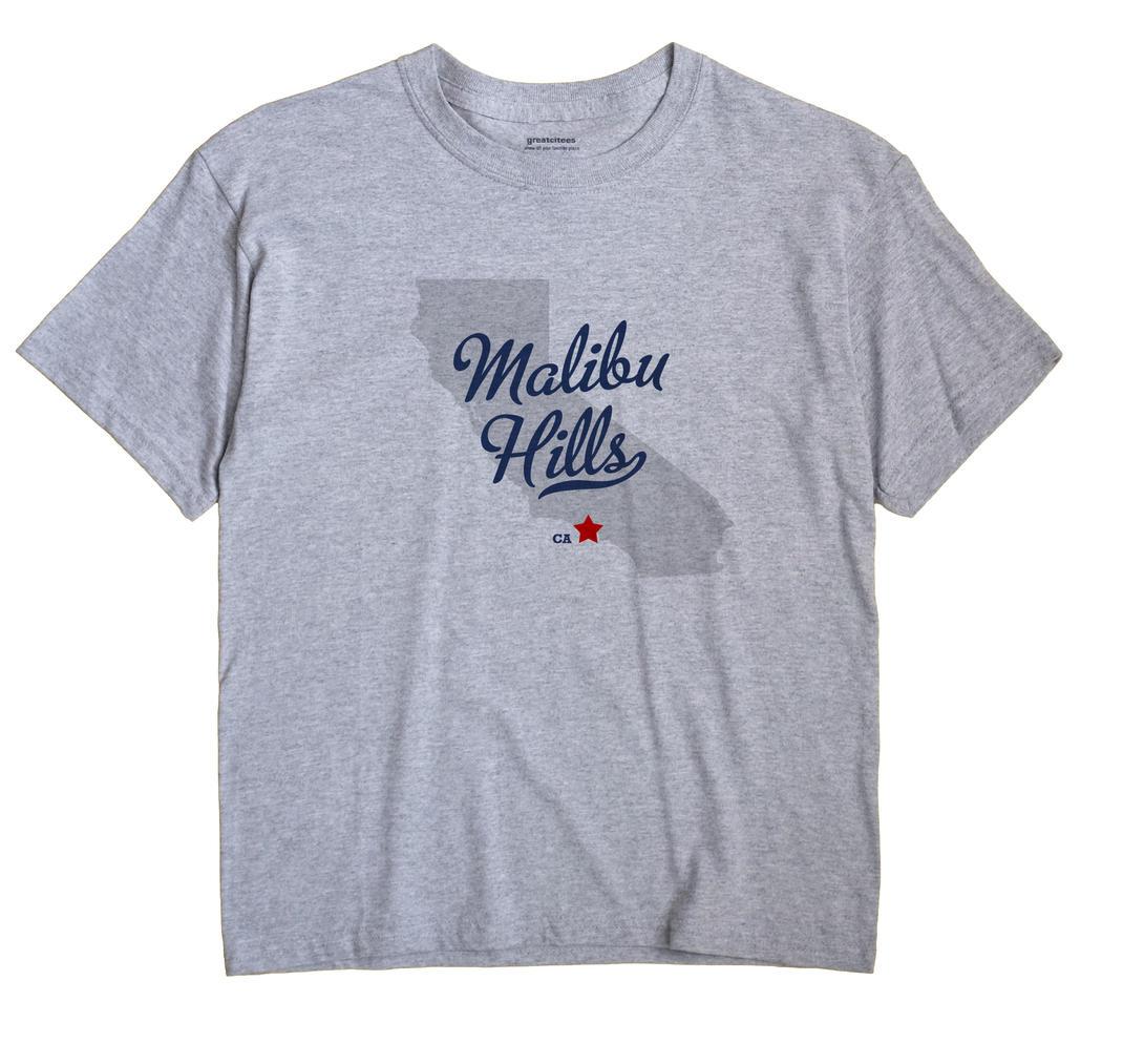 Malibu Hills, California CA Souvenir Shirt