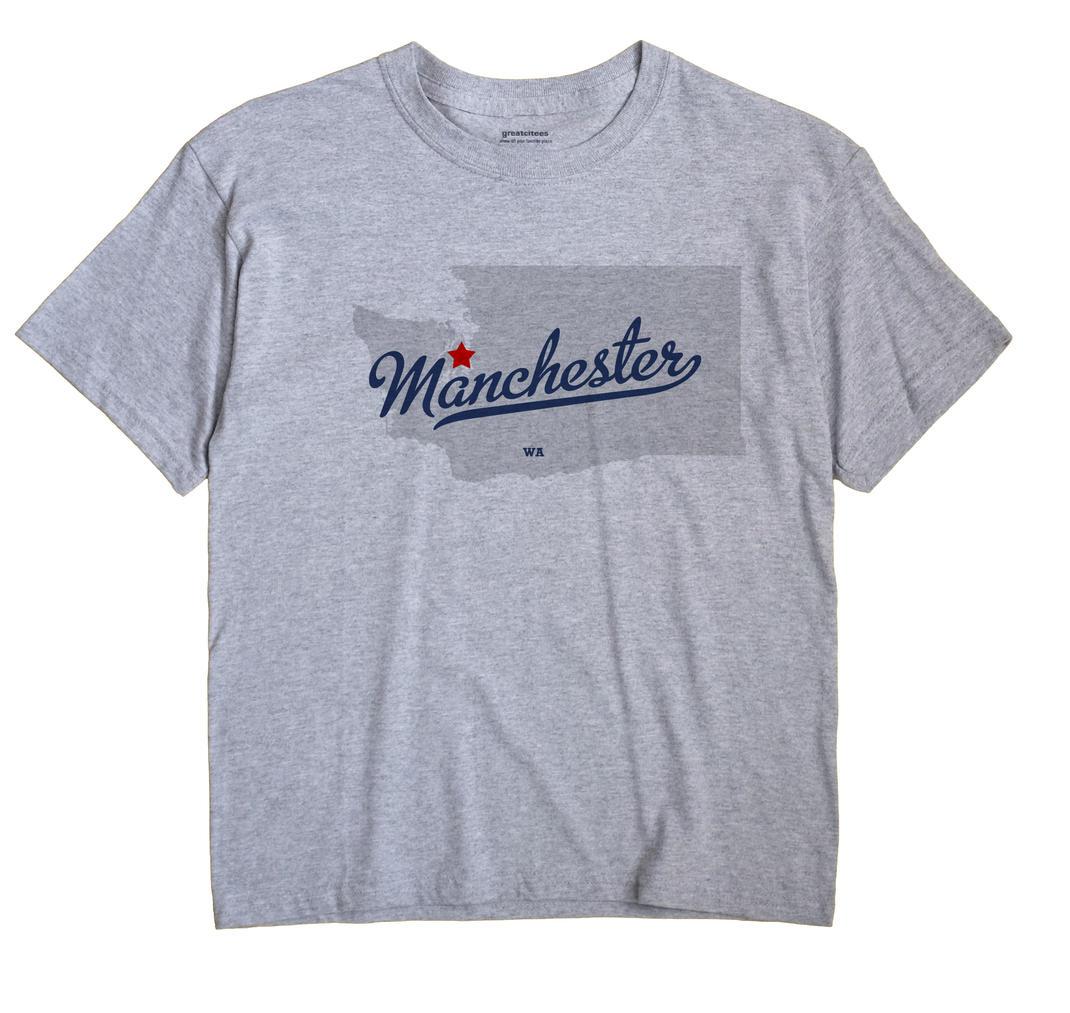 Manchester, Washington WA Souvenir Shirt