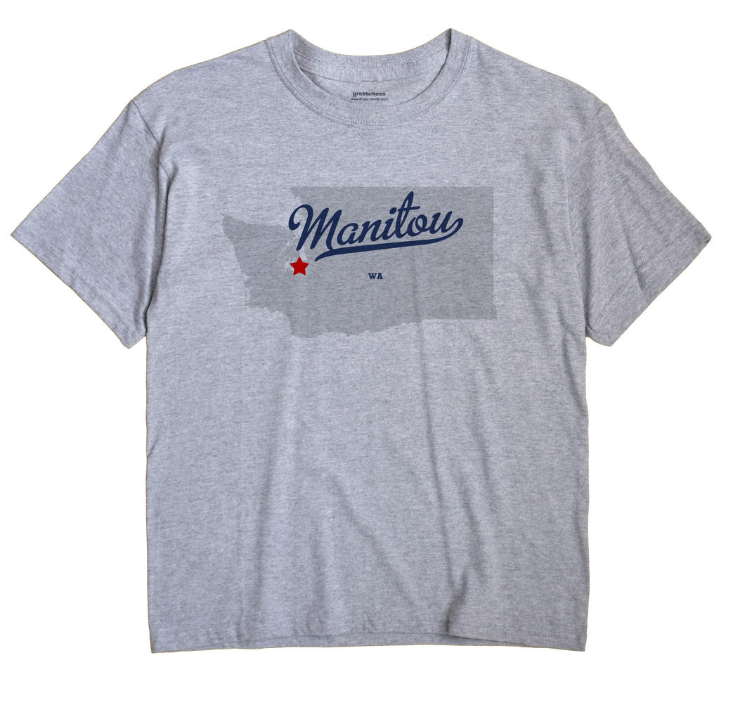 Manitou, Washington WA Souvenir Shirt